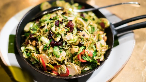 Pickled Chili Brussels Sprouts
