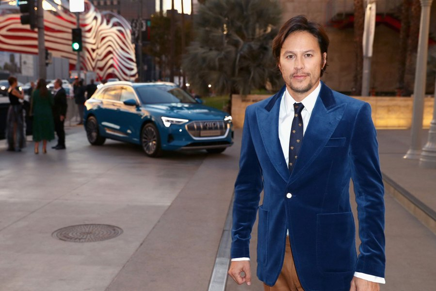 Director Cary Joji Fukunaga, wearing Gucci, attends 2018 LACMA Art + Film Gala honoring Catherine Opie and Guillermo del Toro presented by Gucci at LACMA on November 3, 2018 in Los Angeles, California. (Photo by Joe Scarnici/Getty Images for Audi)