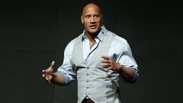 Actor Dwayne Johnson speaks at Paramount Pictures' presentation highlighting its 2017 summer and beyond during CinemaCon at The Colosseum at Caesars Palace on March 28, 2017 in Las Vegas, Nevada. (Photo by Gabe Ginsberg/WireImage)