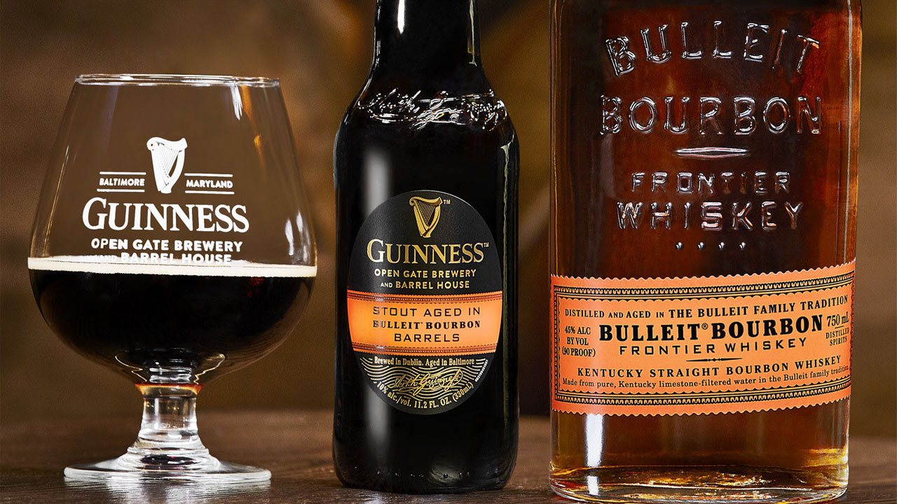 You Can Now Drink a Guinness Aged in Bulleit Bourbon Barrels