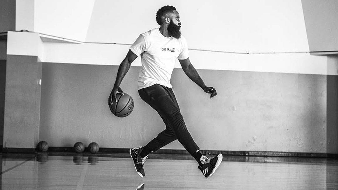 44159ab39090 How James Harden s On-Court Creativity Inspired the Design of the Adidas  Harden Vol. 3 Shoe