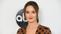 Leighton Meester attends the Disney ABC Television TCA Summer Press Tour