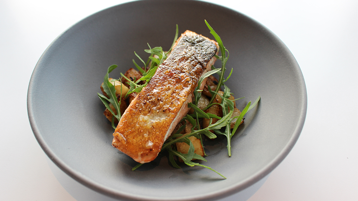 This Easy Roasted Salmon Dish Has a Secret Fall Ingredient