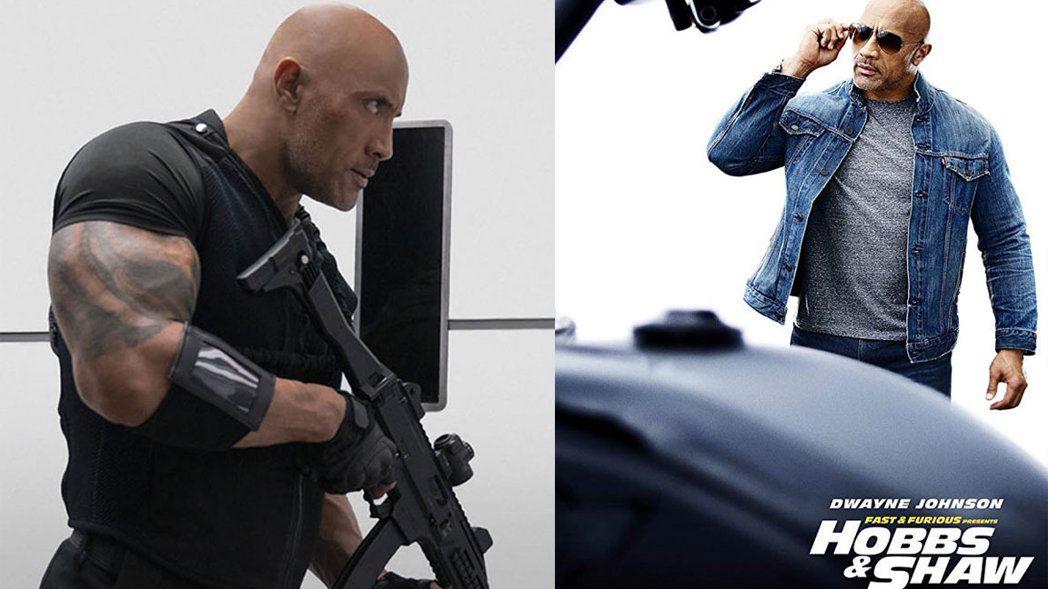 Here S How The Rock Looked After 18 Weeks Of Hobbs And Shaw
