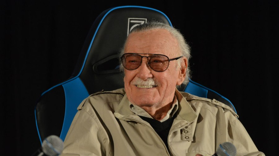 Marvel Comic book creator Stan Lee speaks at the 2017 Adelaide Supanova at the Wayville Showgrounds in Adelaide, South Australia. (Photo by Brenton Edwards Photography/Newspix/Getty Images)