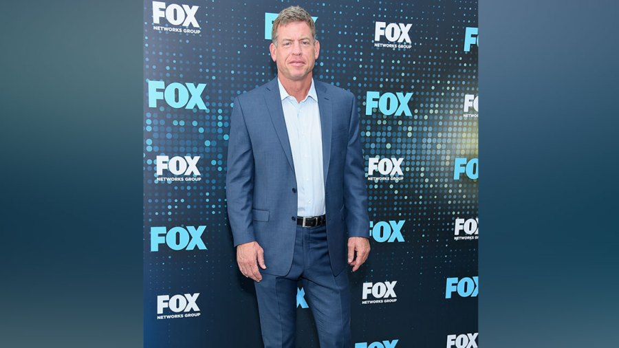 Troy Aikman attends the 2017 FOX Upfront at Wollman Rink, Central Park on May 15, 2017 in New York City. (Photo by Michael Loccisano/Getty Images)