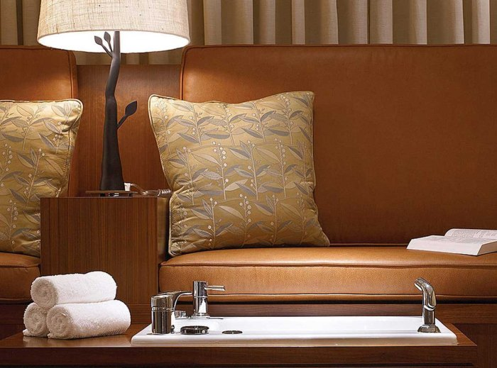 Foot treatment at Four Seasons in Vail