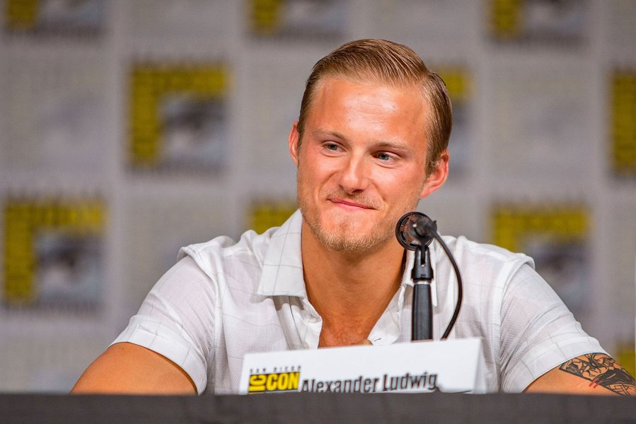 Actor Alexander Ludwig attends the Vikings panel at Comic-Con International on July 20, 2018 in San Diego, California. (Photo by Daniel Knighton/Getty Images for HISTORY)