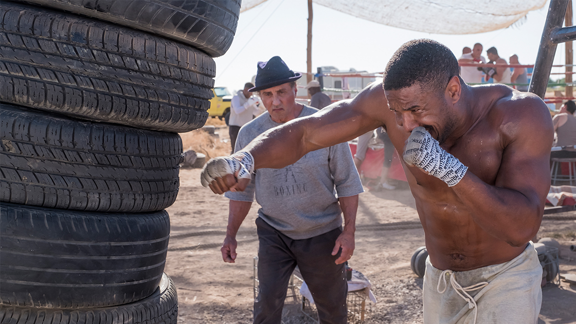 67a0db97f7487d Inside The Making Of That Epic Desert Training Montage In  Creed II