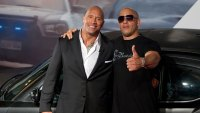 Dwayne Johnson and Vin Diesel