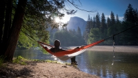 Yosemite National Park, CA. Hammocking the morning away.