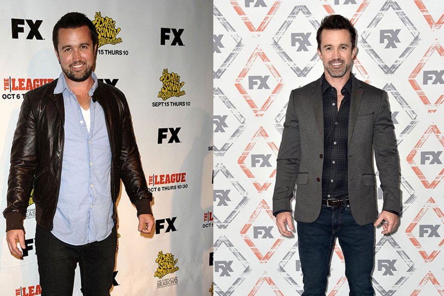 The Most Impressive Celebrity Body Transformations of 2018 - Rob McElhenney in It's Always Sunny in Philadelphia