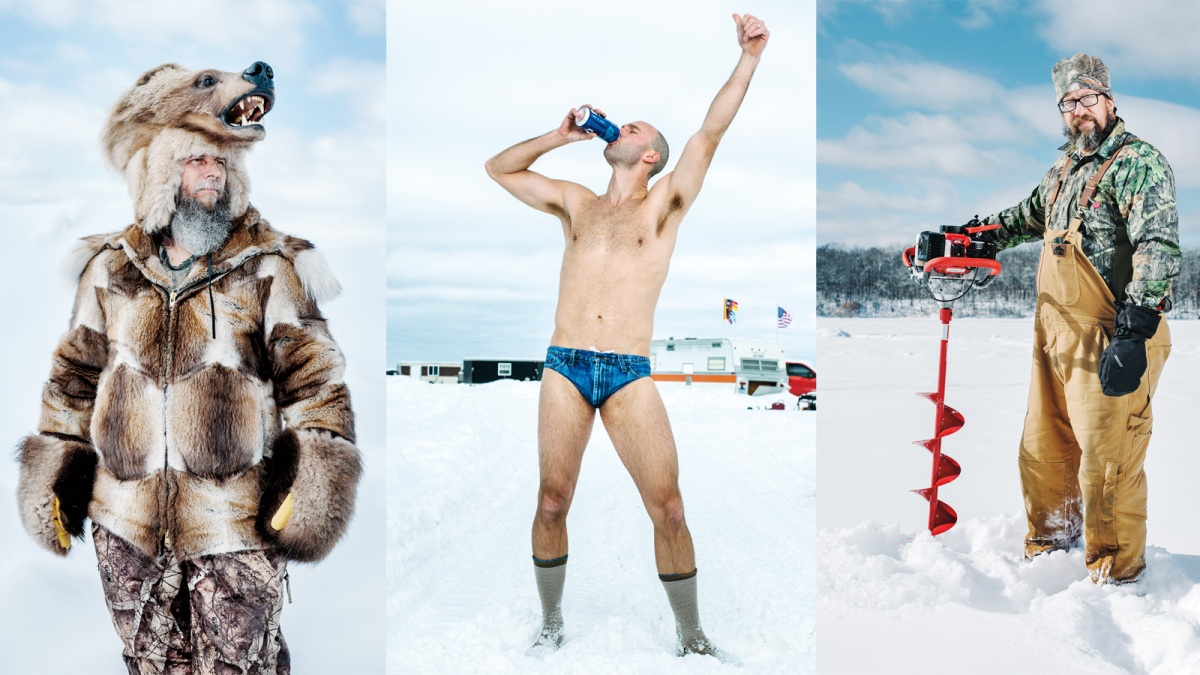 The World's Craziest, and Booziest, Ice-Fishing Party