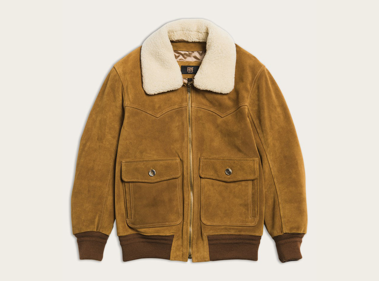 The Frye Company Dylan Suede Bomber