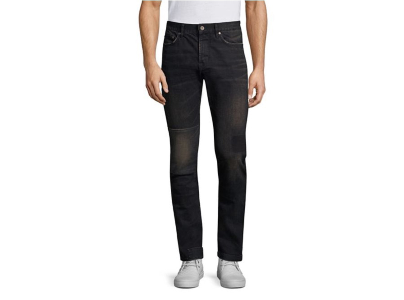 John Varvatos Star U.S.A. Wight Slim-Fit Patch Jeans