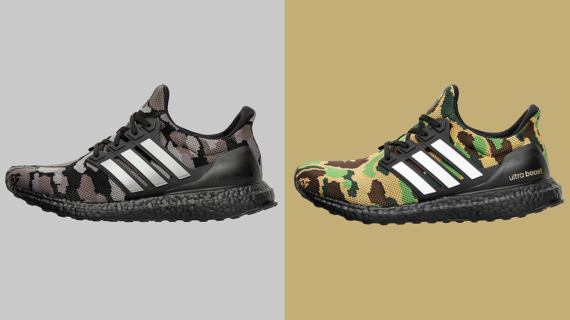Bape x Adidas Football: Ultra Boost & Cleats Collection