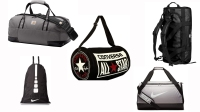 gym bags array