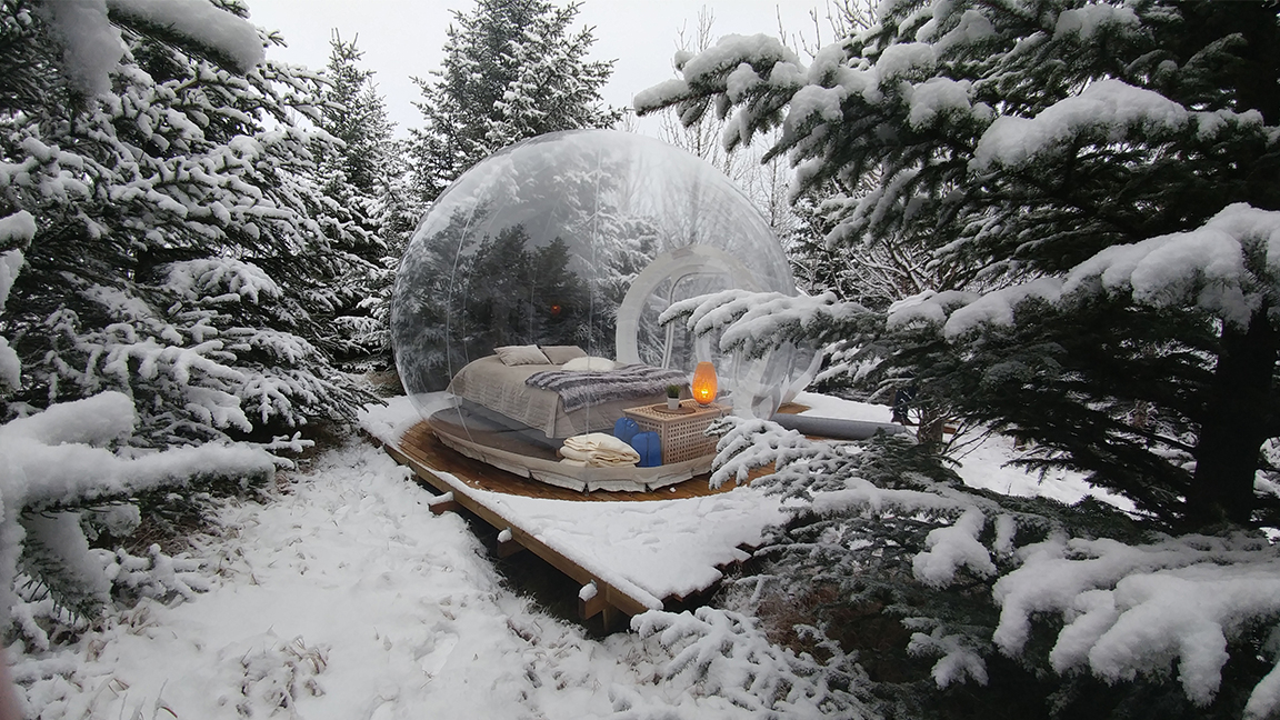 The Coziest Winter Glamping Sites in the World
