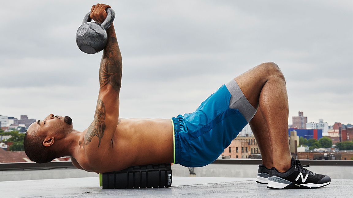 Foam Roller Chest Press: The Workout Move That'll Challenge Your Entire Body