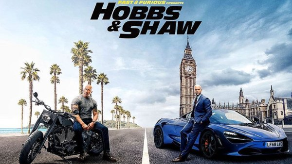 Fast & Furious Presents: Hobbs & Shaw - Poster - The Rock, Jason Statham, Dwayne Johnson