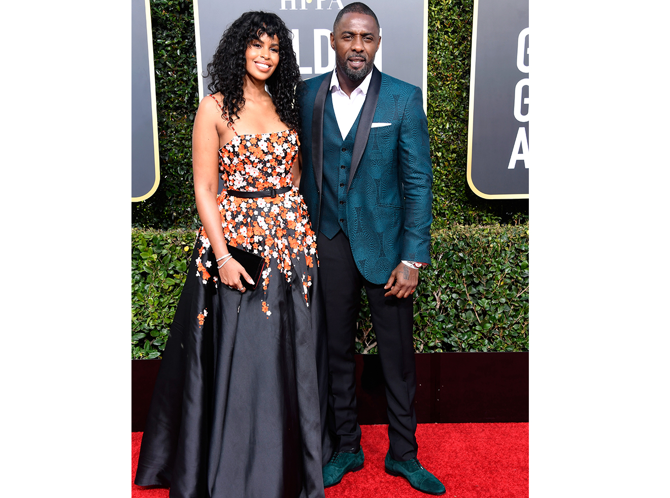 Idris Elba attend the 76th Annual Golden Globe Awards at The Beverly Hilton Hotel on January 6, 2019 in Beverly Hills, California.