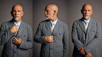 Actor John Malkovich poses for a portrait at Getty Images Portrait Studio powered by Samsung Galaxy at Comic-Con International 2014 at Hard Rock Hotel San Diego on July 24, 2014 in San Diego, California. (Photo by MJ Kim/Getty Images for Samsung)