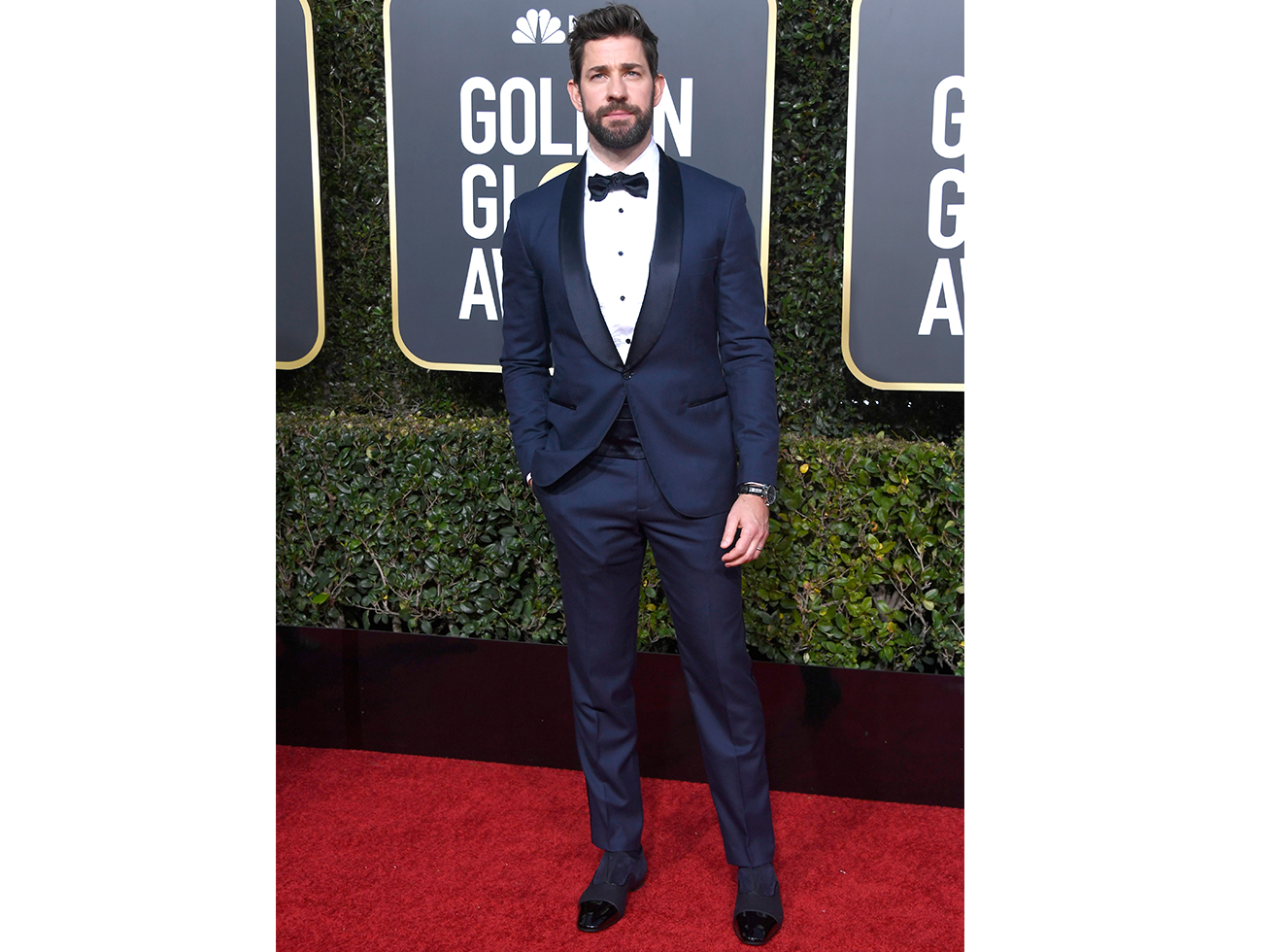 John Krasinski attends the 76th Annual Golden Globe Awards at The Beverly Hilton Hotel on January 6, 2019 in Beverly Hills, California.