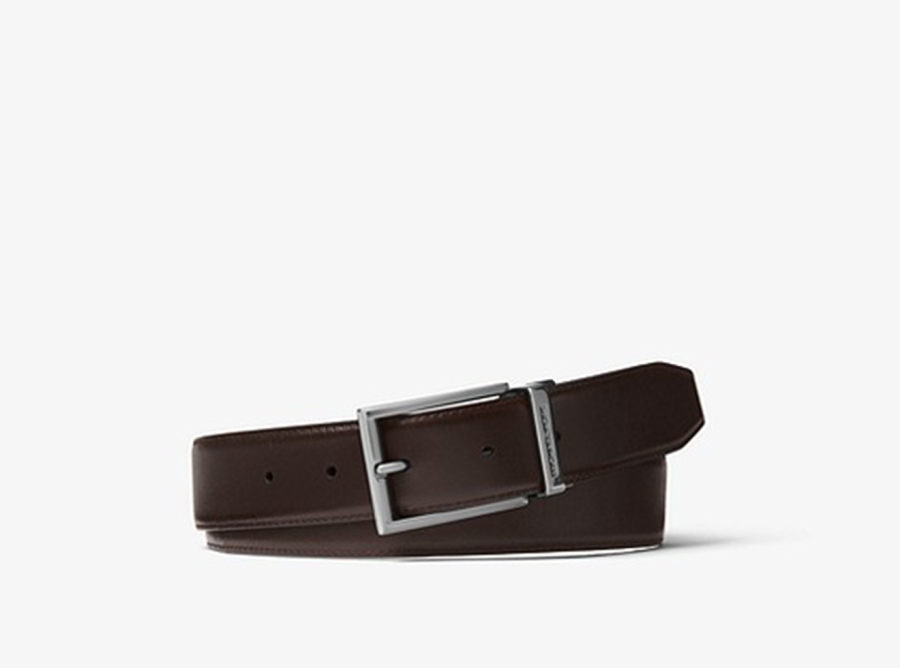 Leather Belt, Michael Kors