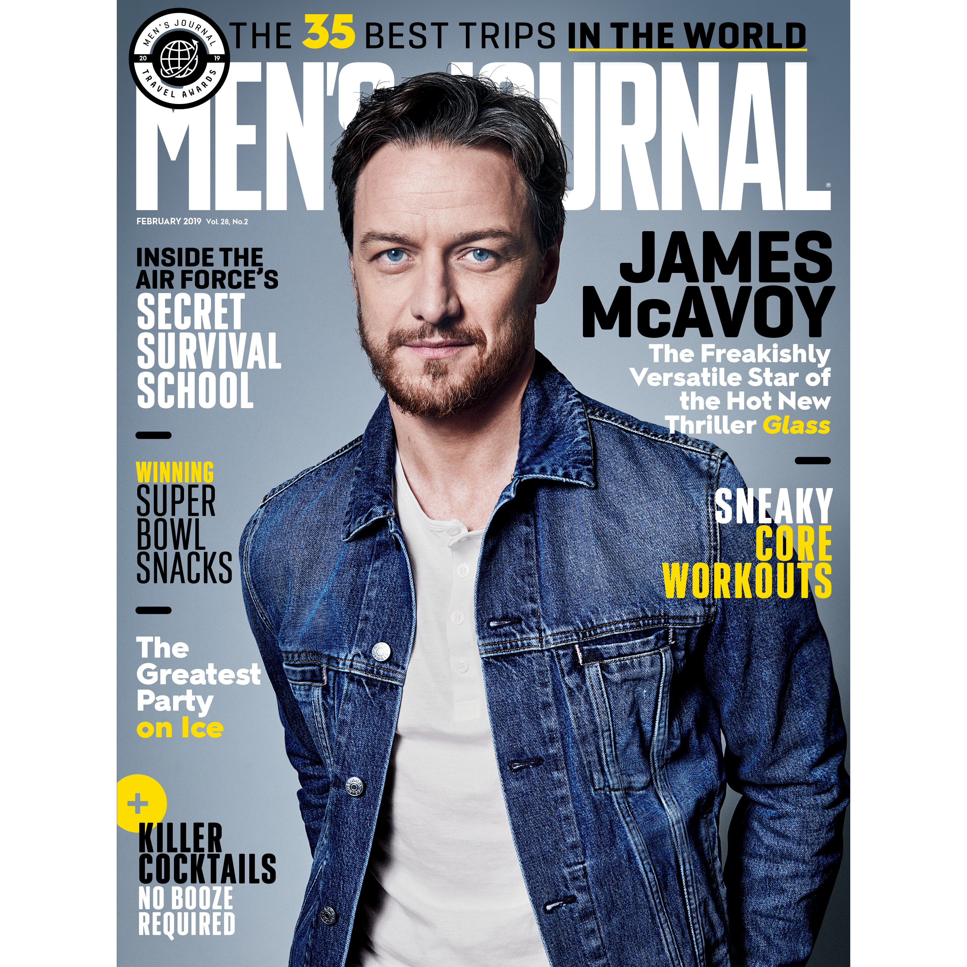 James McAvoy, Men's Journal February 2019