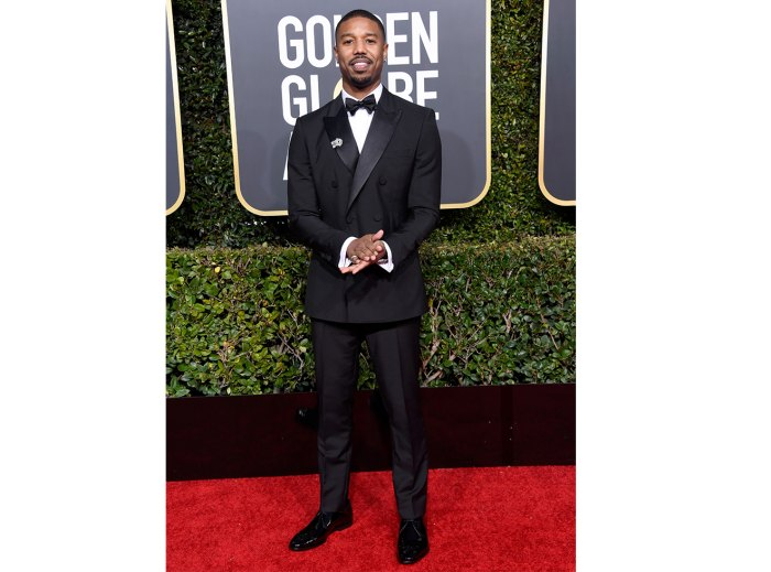 Michael B. Jordan attends the 76th Annual Golden Globe Awards at The Beverly Hilton Hotel on January 6, 2019 in Beverly Hills, California.