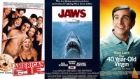 American Pie, Jaws, 40 Year Old Virgin Posters