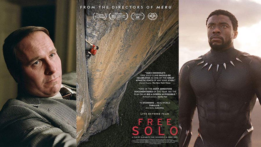 Oscars 2019, Academy Awards - Free Solo, Vice, Black Panther