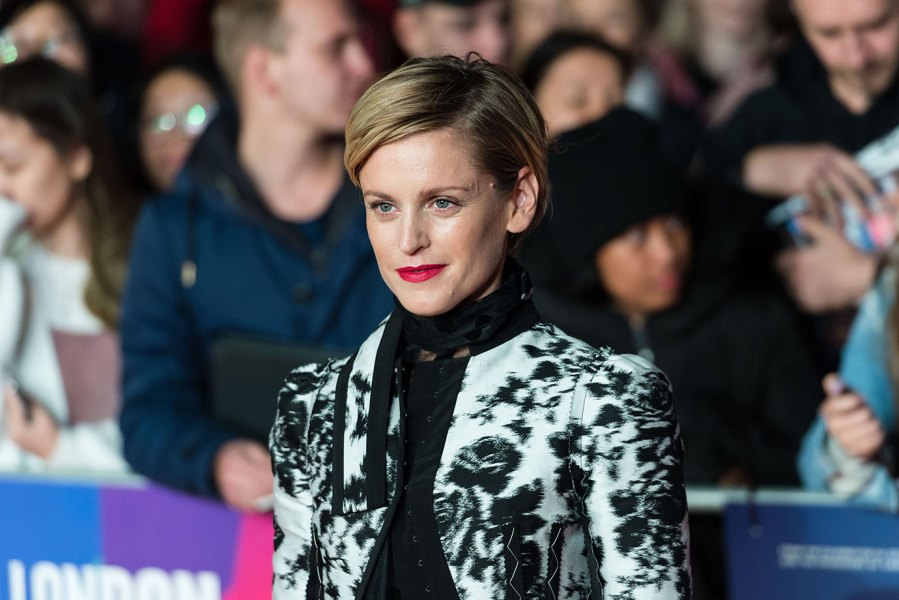 Denise Gough attends the UK film premiere of 'Colette' at Cineworld, Leicester Square during the 62nd London Film Festival BFI Patrons Gala. October 11, 2018 in London, United Kingdom. (Photo credit should read Wiktor Szymanowicz / Barcroft Media via Getty Images)