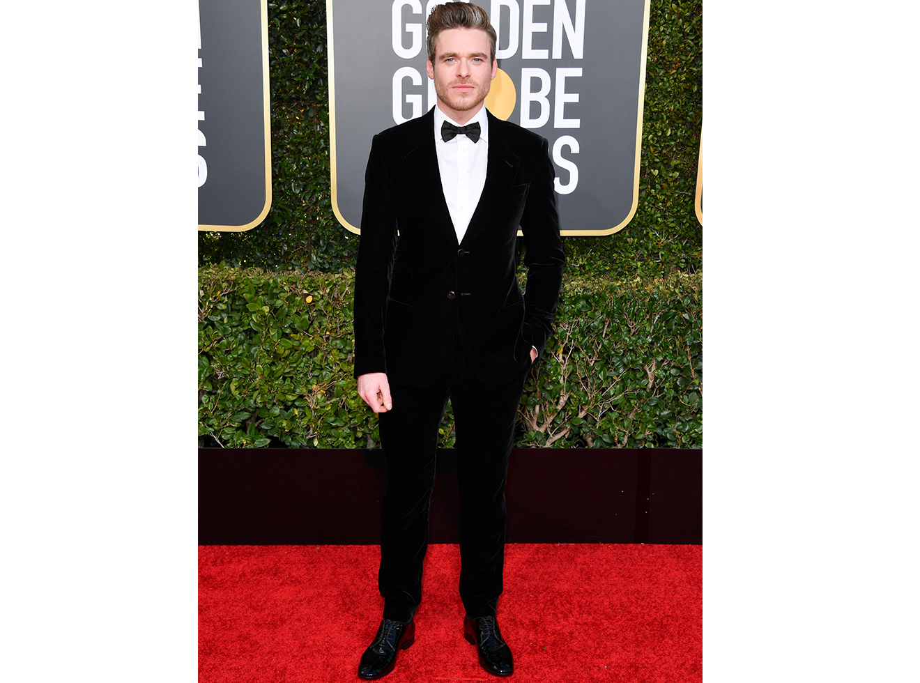 Richard Madden attends the 76th Annual Golden Globe Awards held at The Beverly Hilton Hotel on January 06, 2019 in Beverly Hills, California.