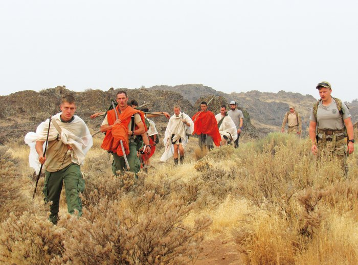 """SERE specialists practice surviving in """"hostile"""" territory."""