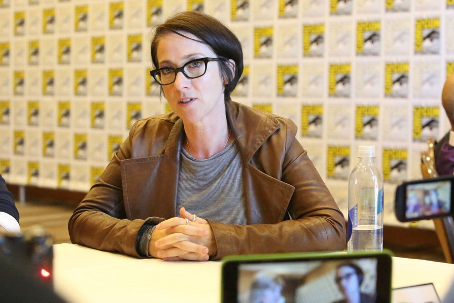 Pictured: SJ Clarkson at USA Network Dig Panel at San Diego Convention Center in San Diego, CA on July 24th 2014 -- (Photo by: Evans Vestal Ward/USA Network/NBCU Photo Bank via Getty Images)