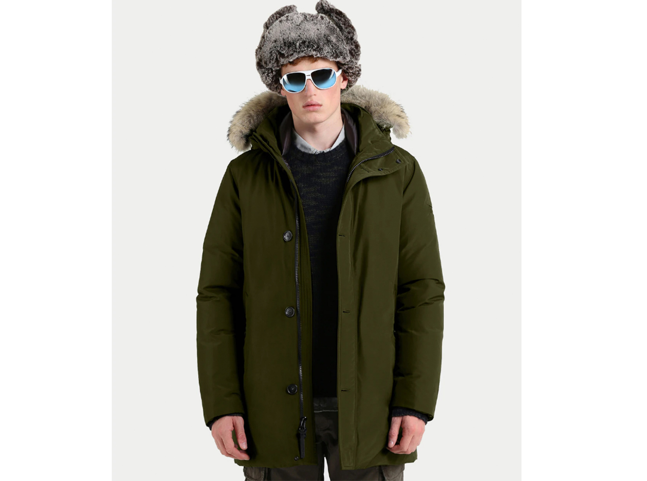 Woolrich South Bay Parka-John Rich & Bros.