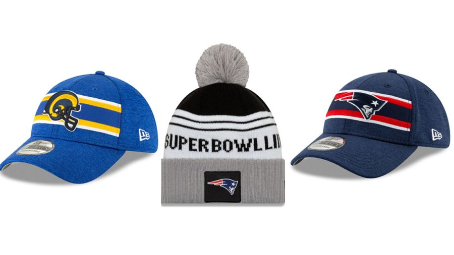 Super Bowl hats collection