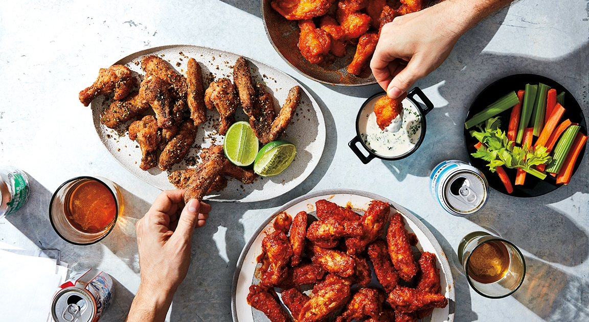 How to Make Crispy, Irresistible Chicken Wings for Your Super Bowl Party
