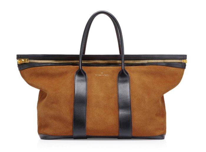 Tom Ford Soft Suede Holdall