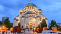 Church of Saint Sava in Serbia