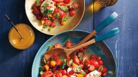 Caprese Salad With Sweet Tamarind Dressing