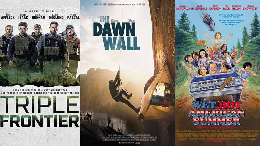 Triple Frontier, The Dawn Wall, Wet Hot American Summer