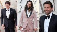 Alex Honnold's North Face Tuxedo, Jason Momoa's Pink Suit, and the Most Stylish Moments From This Year's Oscars