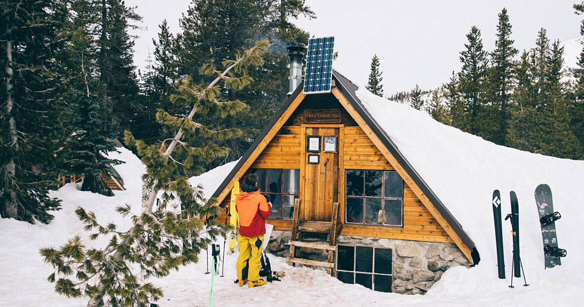 Dispatches: A Backcountry Ski Hut, Hidden in the Sierra