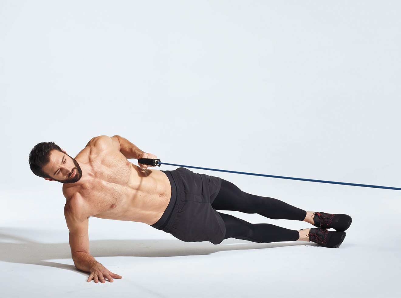 Image result for side plank with cable row