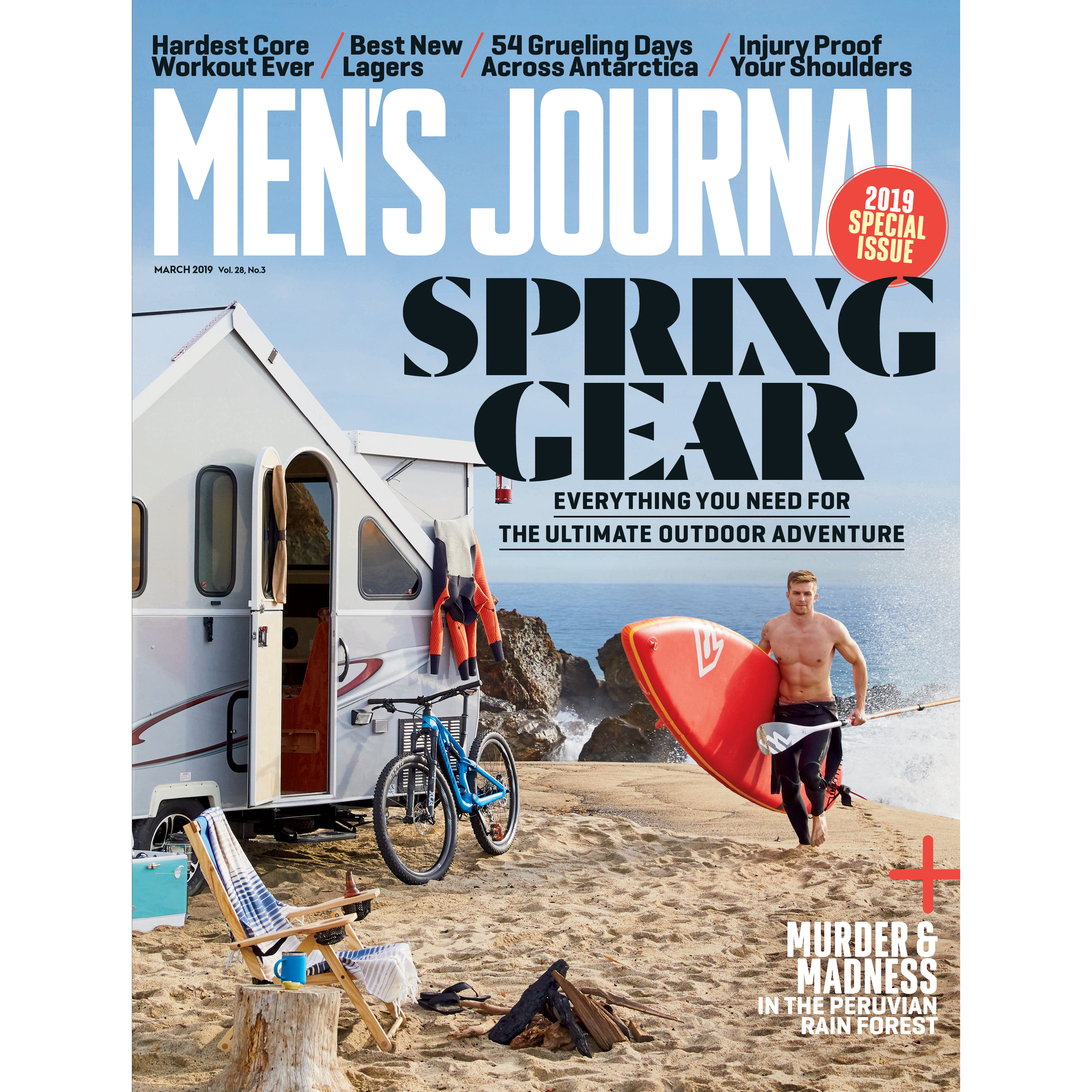 2019 Spring Gear Issue Cover, Photograph by Jessica Sample