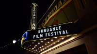 The Egyptian Theatre marquee is seen along Main Street during the 2019 Sundance Film Festival on January 24, 2019 in Park City, Utah. (Photo by David Becker/Getty Images)