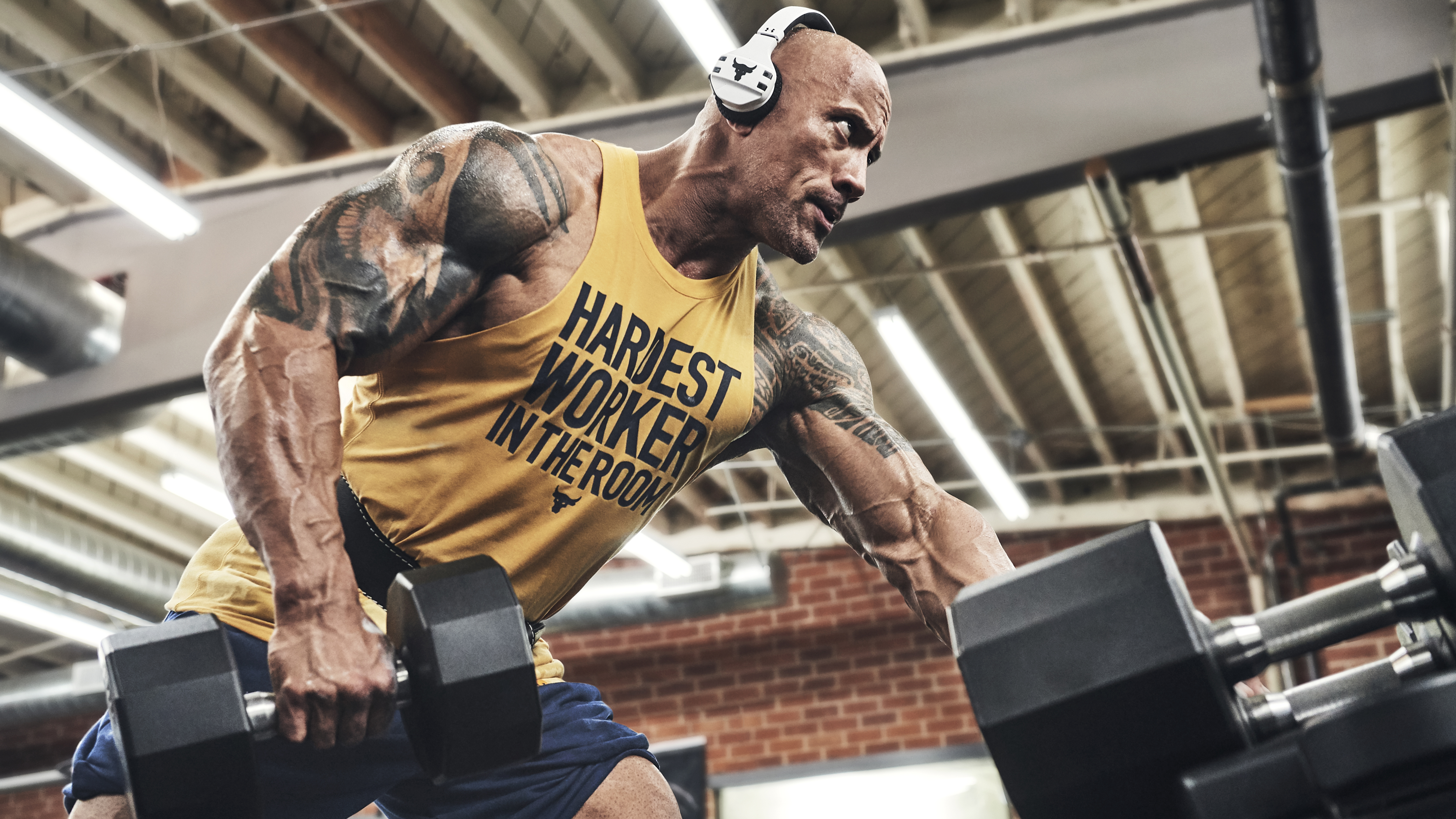 Dwayne Johnson S Latest Ua Project Rock Collection