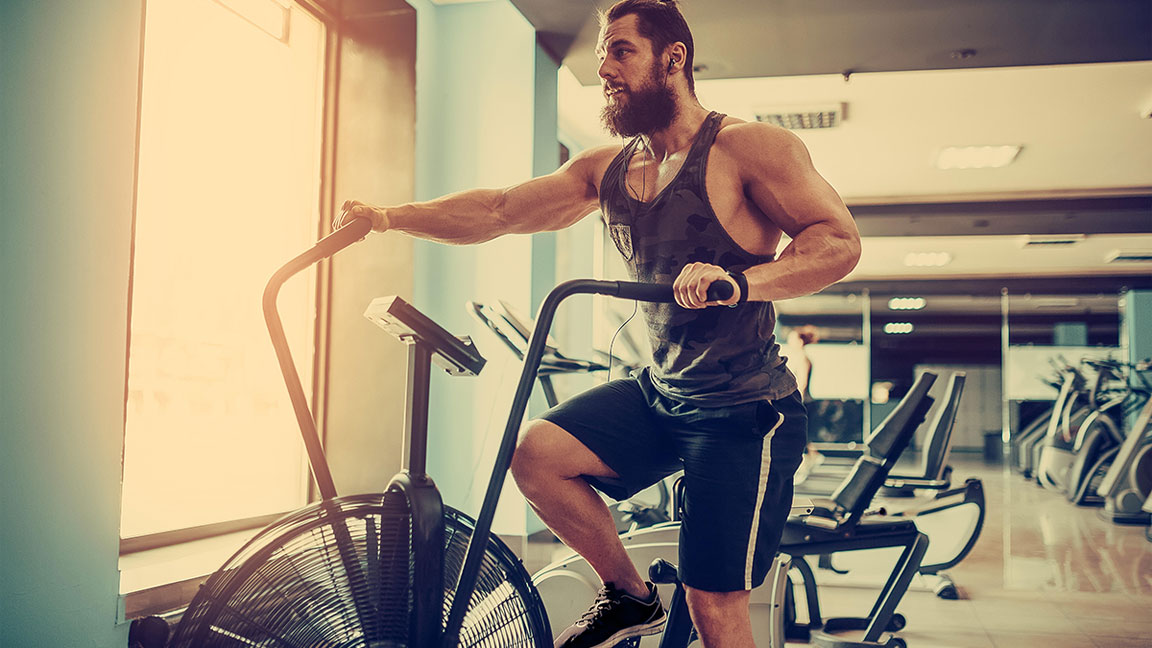 For the Ultimate Low-Impact Cardio Workout, Hop on an Airdyne Bike
